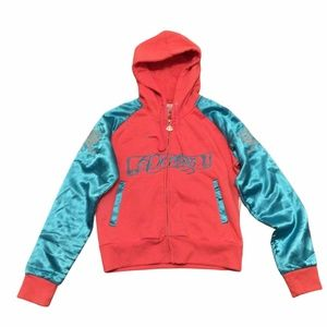 Dereon XL Track Jacket Flying Dragons Long Sleeves